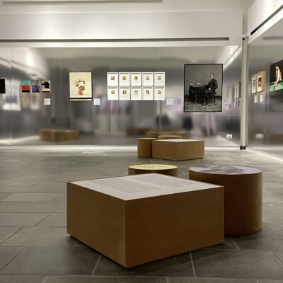 """Allestimento Mostra """"The Families of Man"""""""