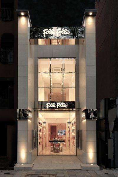 New Facade Shop FF Omotesando